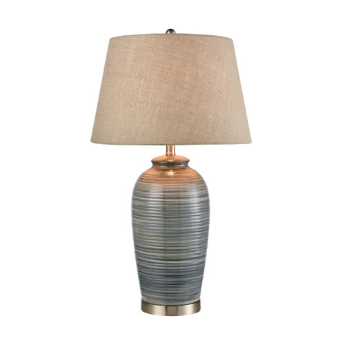 """31"""" Stein World Monterey Table Lamp in Blue, Transitional - 1"""