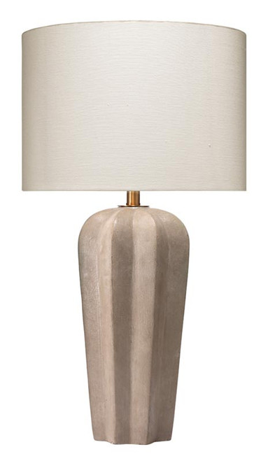 Regal Table Lamp in Grey Cement