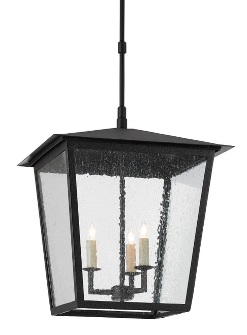 """23"""" Currey and Company Bening Large Outdoor Lantern - 1"""