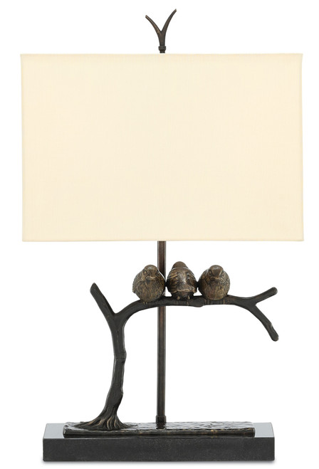 """25"""" Currey and Company Sparrow Table Lamp - 1"""
