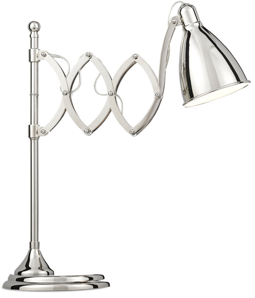 """28"""" Currey and Company Reeves Desk Lamp - 1"""