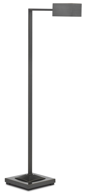 "45"" Currey and Company Ruxley Bronze Floor Lamp - 1"