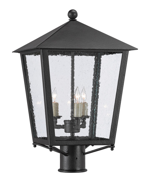 "21"" Currey and Company Bening Small Post Light - 1"