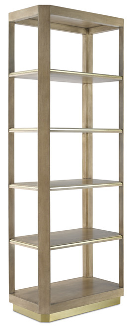 "81"" Currey and Company Bali Small Etagere - 1"