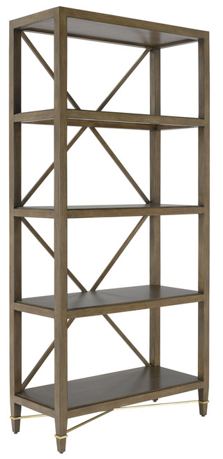 "80"" Currey and Company Verona Chanterelle Etagere - 1"