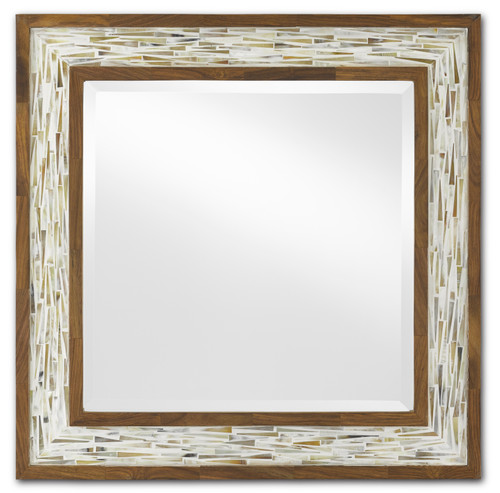 "24"" Currey and Company Aquila Small Mirror - 1"