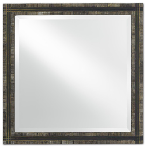 "24"" Currey and Company Gregor Small Mirror - 1"