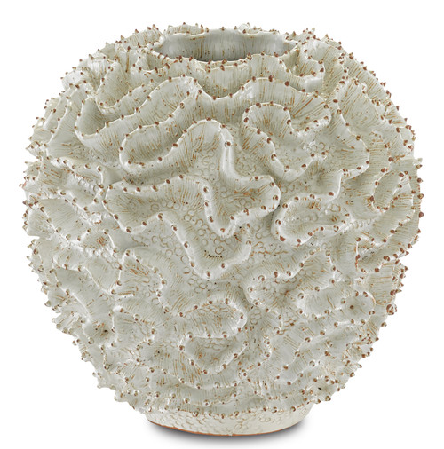 "10"" Currey and Company Swirl Small Vase - 1"