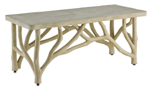 "42"" Currey and Company Creekside Table/Bench - 1"