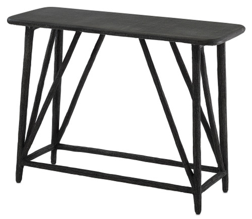 "40"" Currey and Company Arboria Console Table - 1"