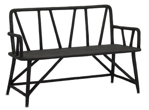 "52"" Currey and Company Arboria Bench - 1"