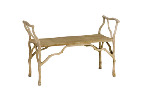 "40"" Currey and Company Beaujon Bench - 1"