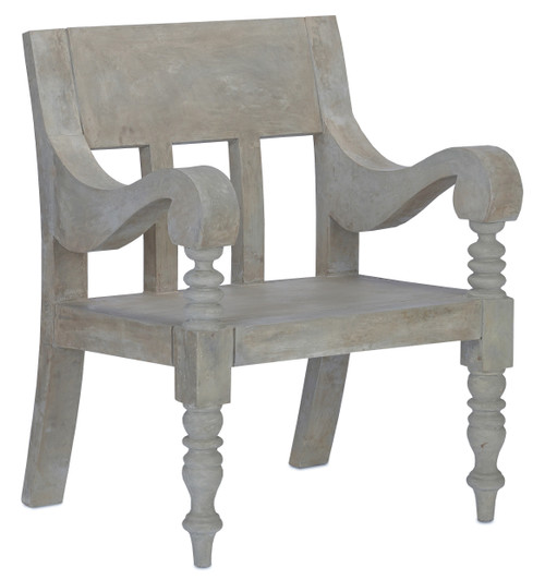 """38"""" Currey and Company Java Chair - 1"""