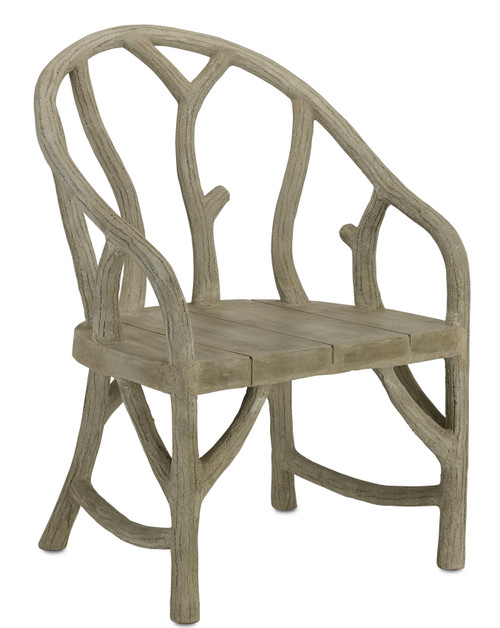"""39"""" Currey and Company Arbor Chair - 1"""
