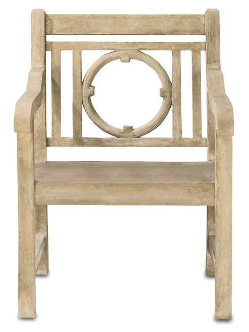 """40"""" Currey and Company Leagrave Chair - 1"""