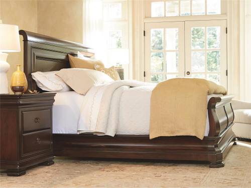 "96"" Universal Furniture Reprise Cal King Sleigh Bed - 1"