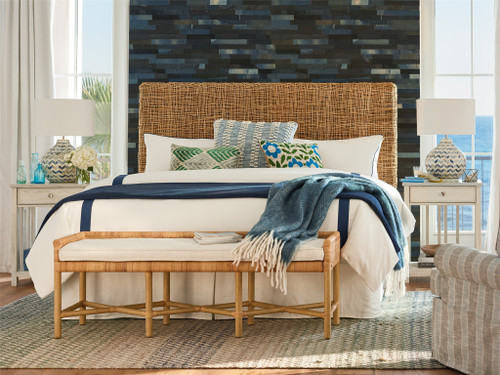 "82"" Universal Furniture Escape-Coastal Living Home Nesting King/Cal King Headboard - 1"