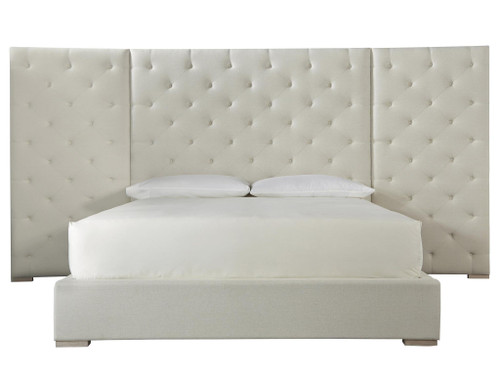 "163"" Universal Furniture Modern Brando Cal King Bed with Panels - 1"