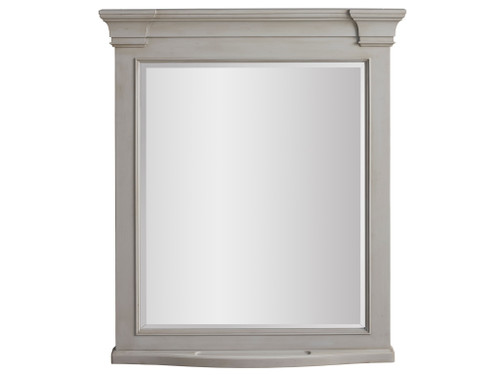 "43"" Universal Furniture Summer Hill - French Gray Mirror 1 - 1"
