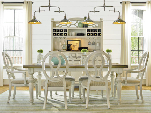 """76"""" Universal Furniture Summer Hill Dining Table  - 1"""