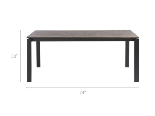 """74"""" Universal Furniture Spaces Hamilton Dining Table - 1"""