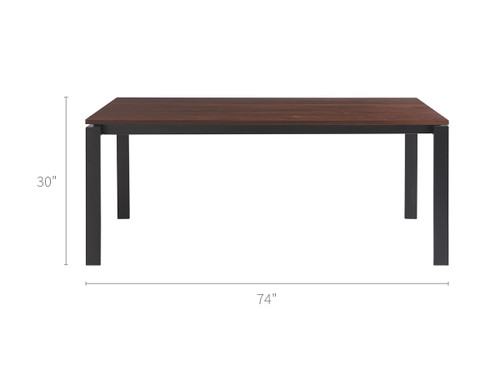 """74"""" Universal Furniture Spaces Hamilton Dining Table 1 - 1"""