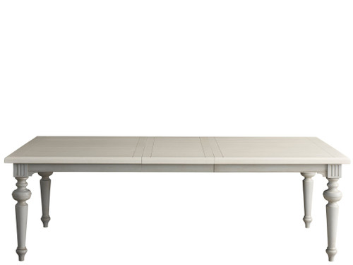 """76"""" Universal Furniture Summer Hill - French Gray Dining Table - 1"""