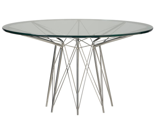 """54"""" Universal Furniture Modern Axel Round Dining Table - 1"""