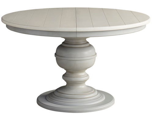 """52"""" Universal Furniture Summer Hill - French Gray Round Dining Table - 1"""