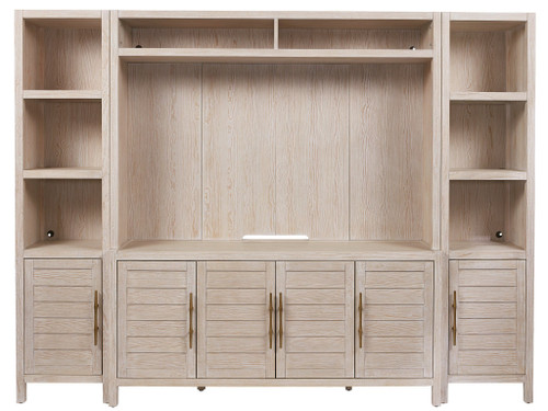 "93"" Universal Furniture Getaway Coastal Living Home Getaway Media Wall Unit - 1"