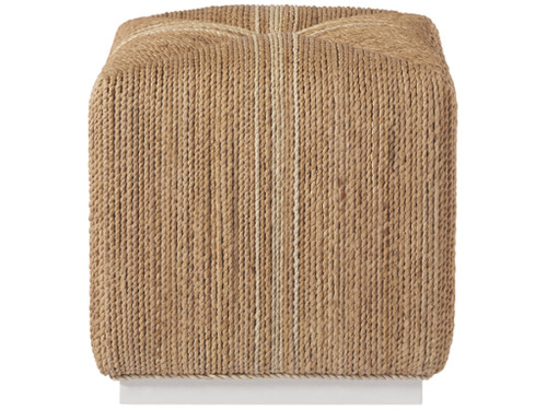 "18"" Universal Furniture Escape-Coastal Living Home Abaca Cube - 1"