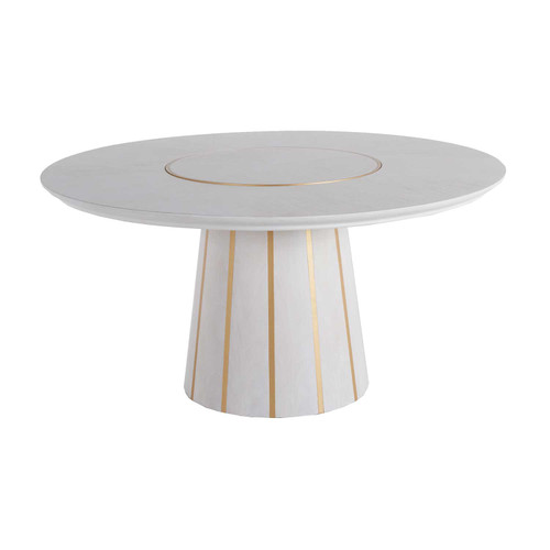Gabby Home Morgan Dining Table - White - 1