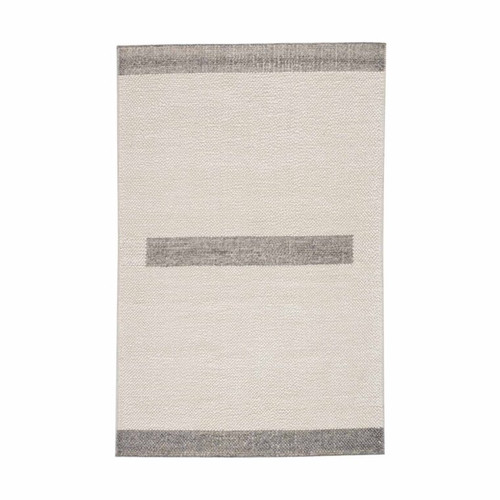 Gabby Home Knotty Dash Pewter Rug  - 1