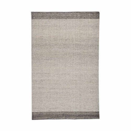 Gabby Home Knotty Pewter Rug  - 1