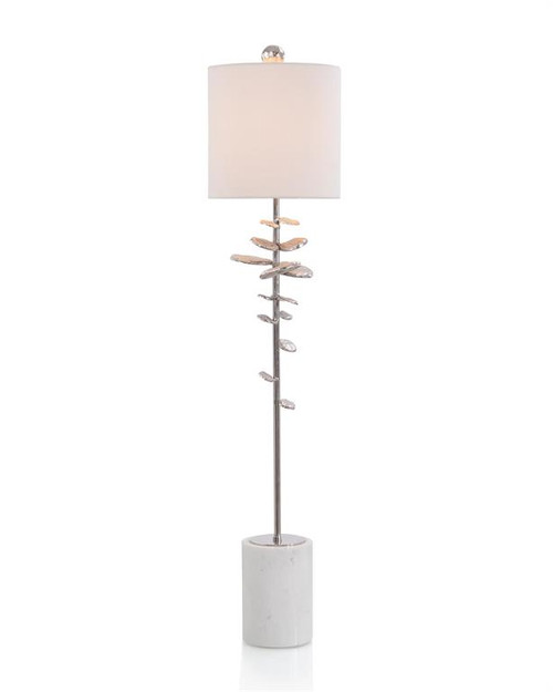 "42"" John Richard Buffet Lamp in Nickel - 1"