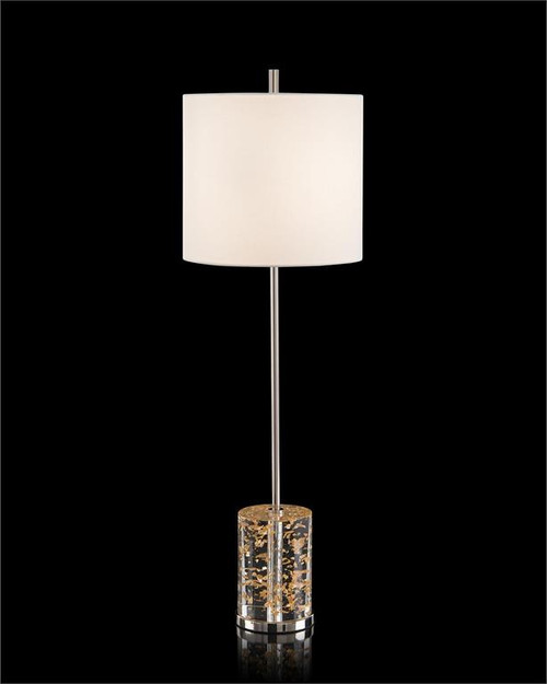 "35"" John Richard Gold Rush Buffet Lamp - 1"
