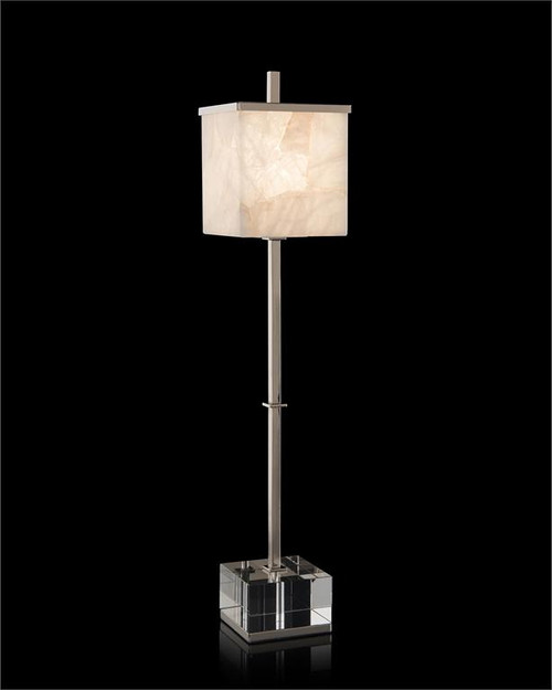 "34"" John Richard Alabaster Aglow Buffet Lamp - 1"