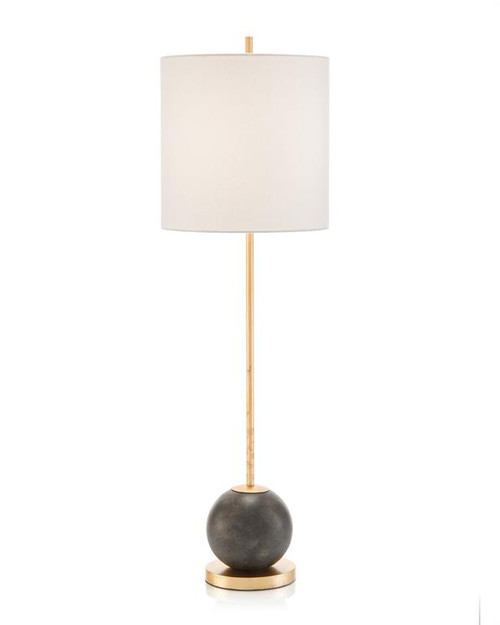 "36"" John Richard Concrete Sphere Buffet Lamp - 1"