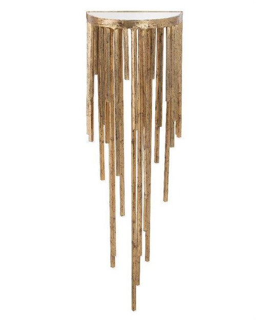 """40"""" John Richard Staggered Gold Wall Sconce - 1"""