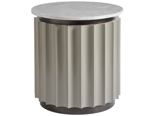 """24"""" Universal Furniture Nina Magon Rockwell Round End Table - 1"""