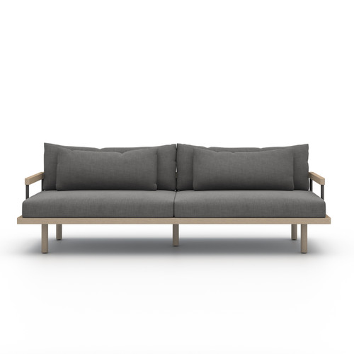 Four Hands Solano Nelson Outdoor Sofa - Brown/Charcoal - 1