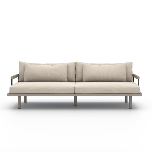 Four Hands Solano Nelson Outdoor Sofa - Grey/Faye Sand - 1