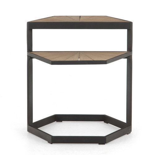 """22"""" Four Hands Alek Outdoor End Table 3 - 1"""