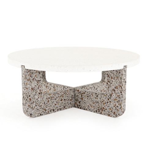 "16"" Four Hands Constantine Lolita Outdoor Coffee Table - 1"