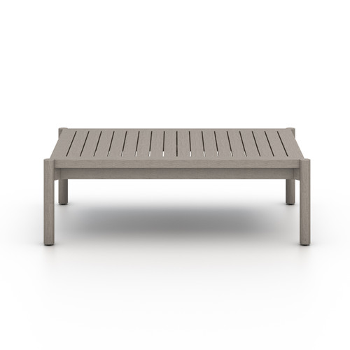 "16"" Four Hands Solano Nelson Outdoor Coffee Table - Grey - 1"