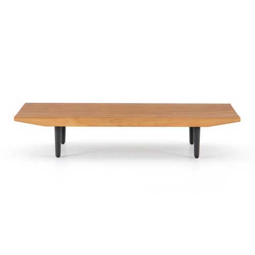 "11"" Four Hands Solano Simmons Outdoor Coffee Table - 1"