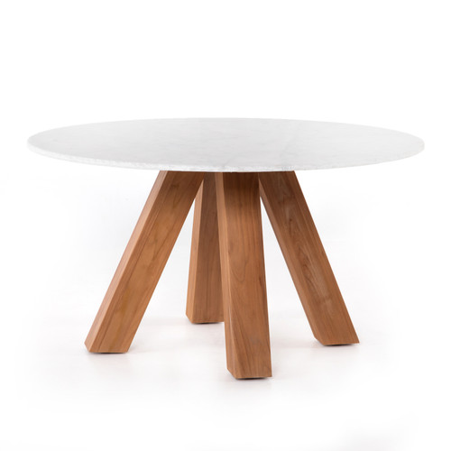 """30"""" Four Hands Solano Sanders Outdoor Dining Table - 1"""