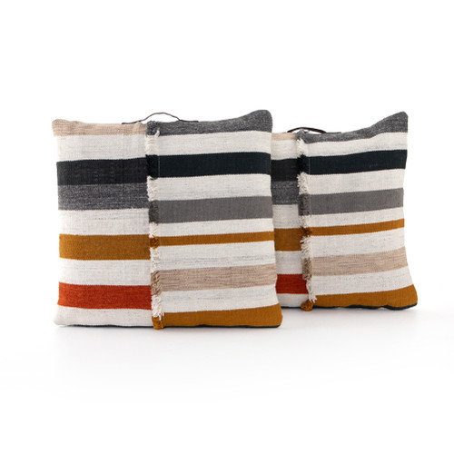 Set of 2 Four Hands Nomad Leira Outdoor Floor Cushion - 1
