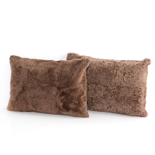 Set of 2 Four Hands Mateo Lavaca Pillow - Taupe - 1