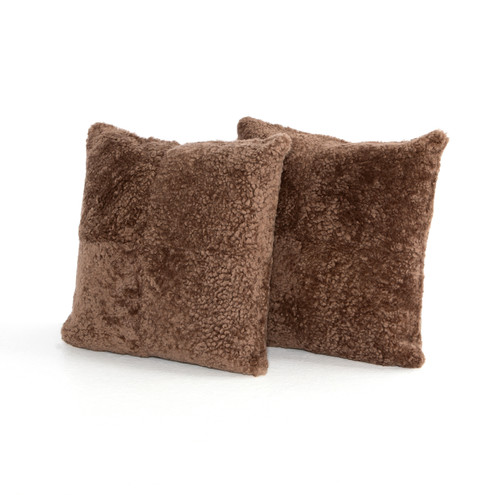 Set of 2 Four Hands Mateo Lavaca Pillow - Taupe 1 - 1
